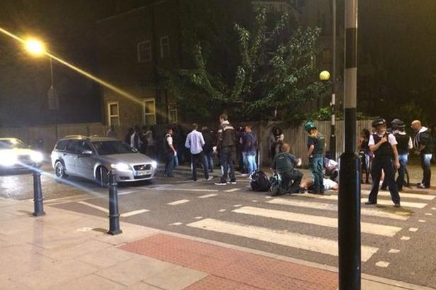 Stamford Hill party fight