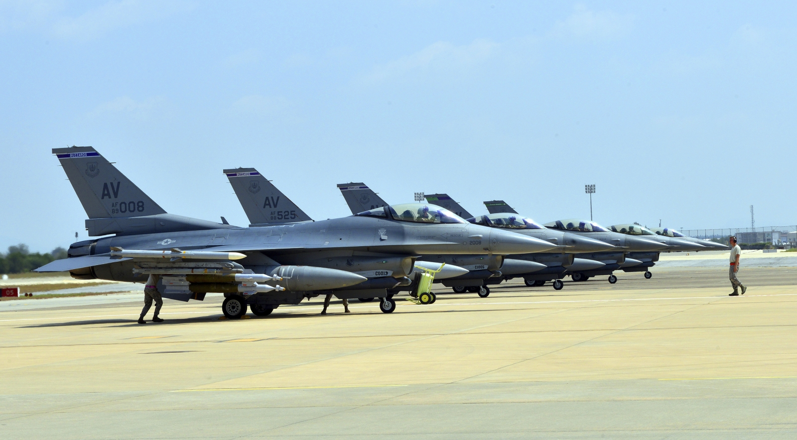 F-16 fighters