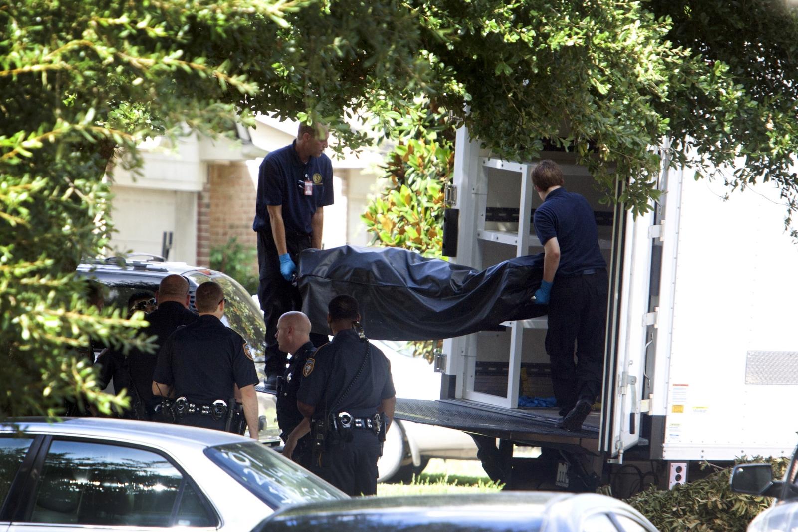 Body removed, Houston