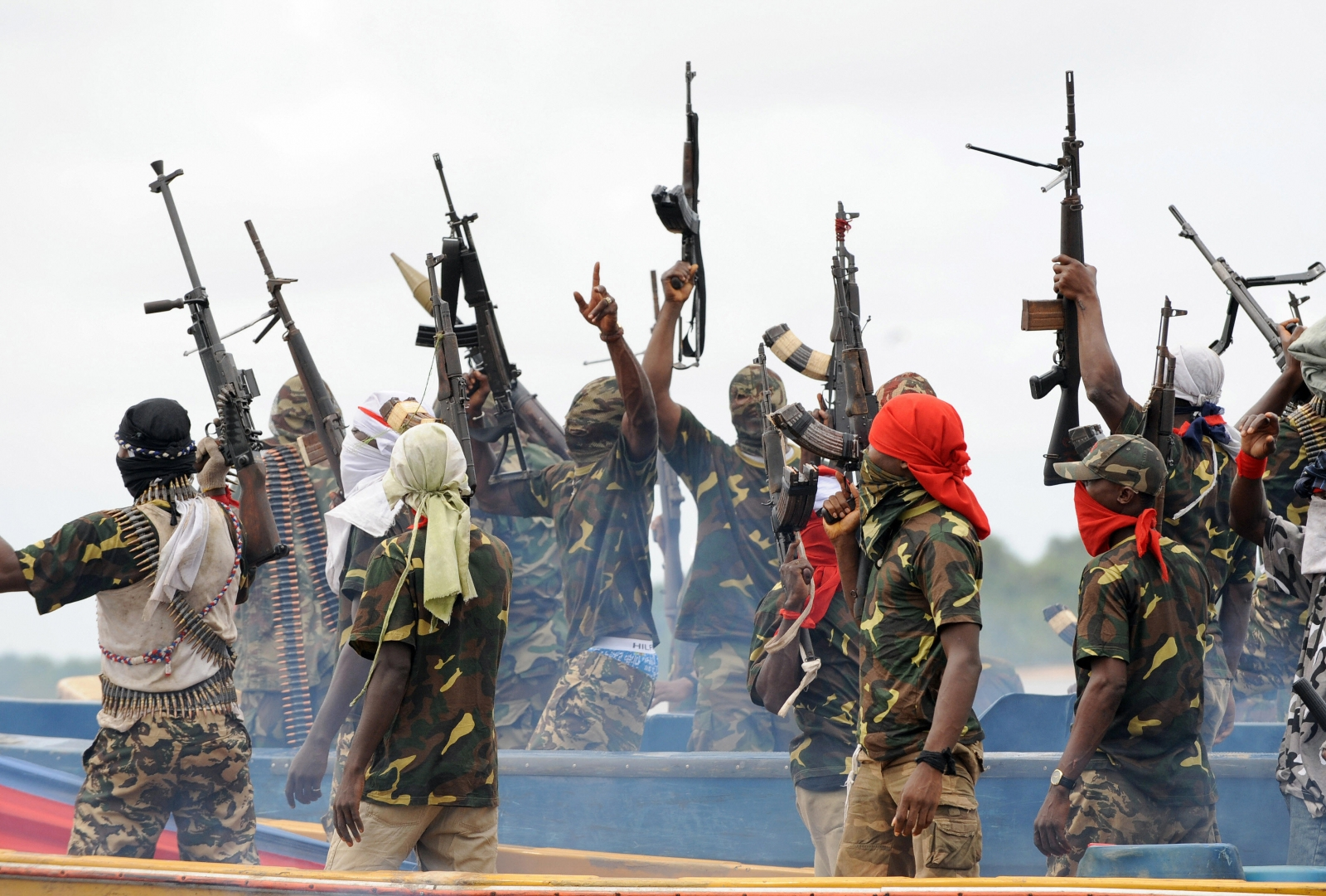 Billedresultat for Niger delta militants