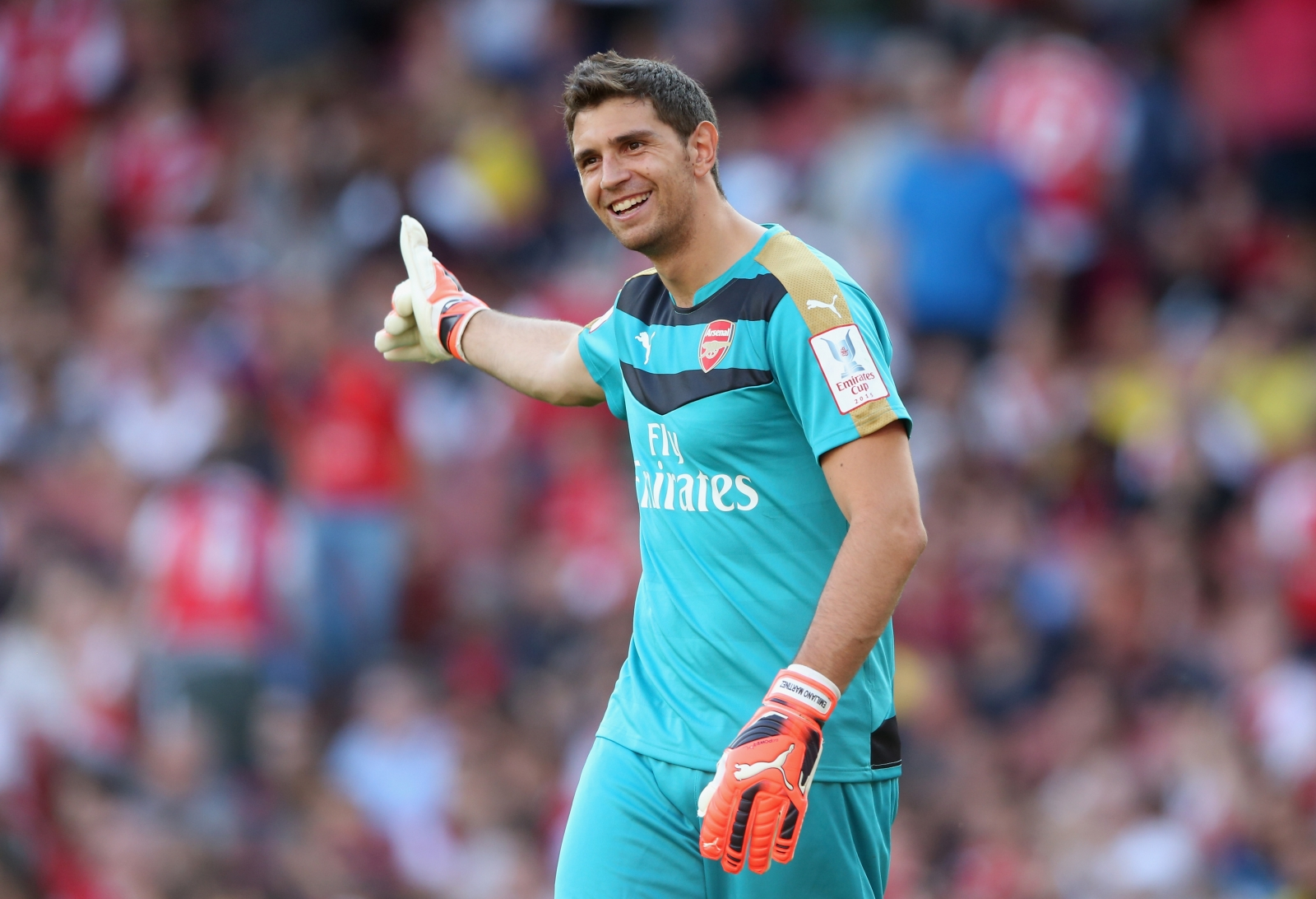 Emiliano Martínez Wallpaper: Arsenal Goalkeeper Emiliano Martinez Set To Join Wolves On Loan