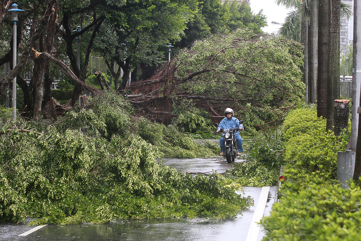 Typhoon Soudelor photos