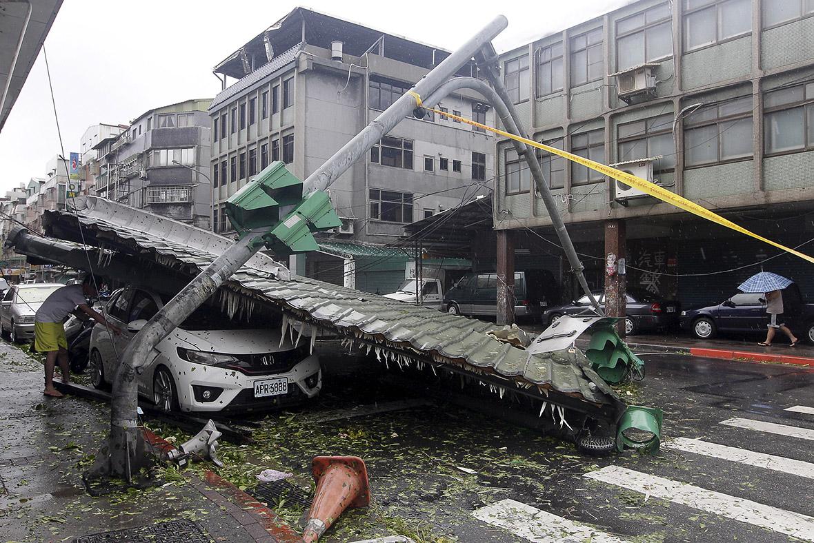 Typhoon Soudelor photos