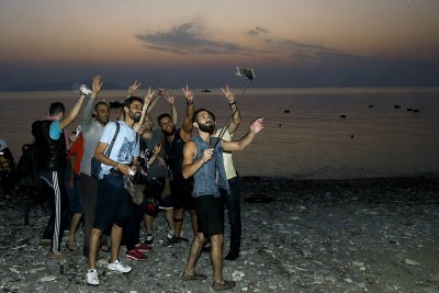 migrants Greece