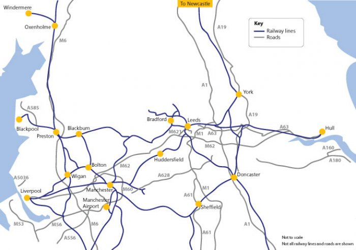 Budget 2016 hs3 rail link between leeds and manchester finally set northern powerhouse blueprint malvernweather Image collections
