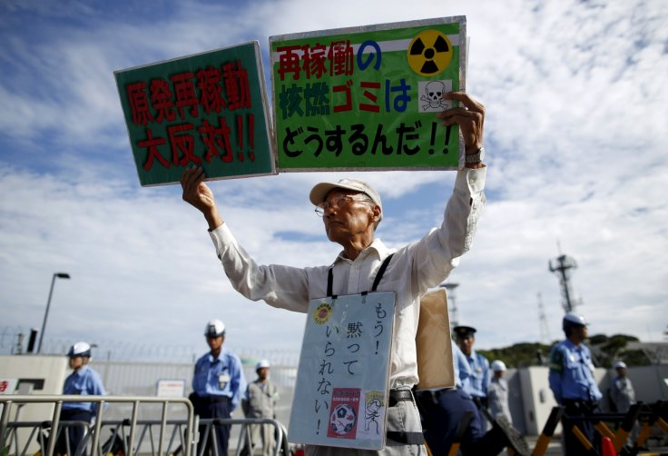 Protests at Kagoshima plant