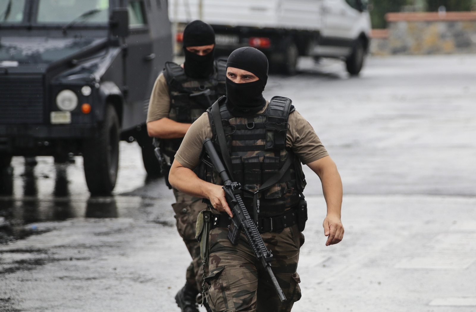 Turkey Istanbul US consulate attack