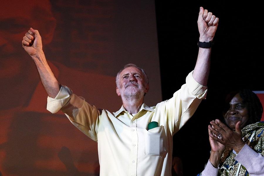 Jeremy Corbyn poll lead