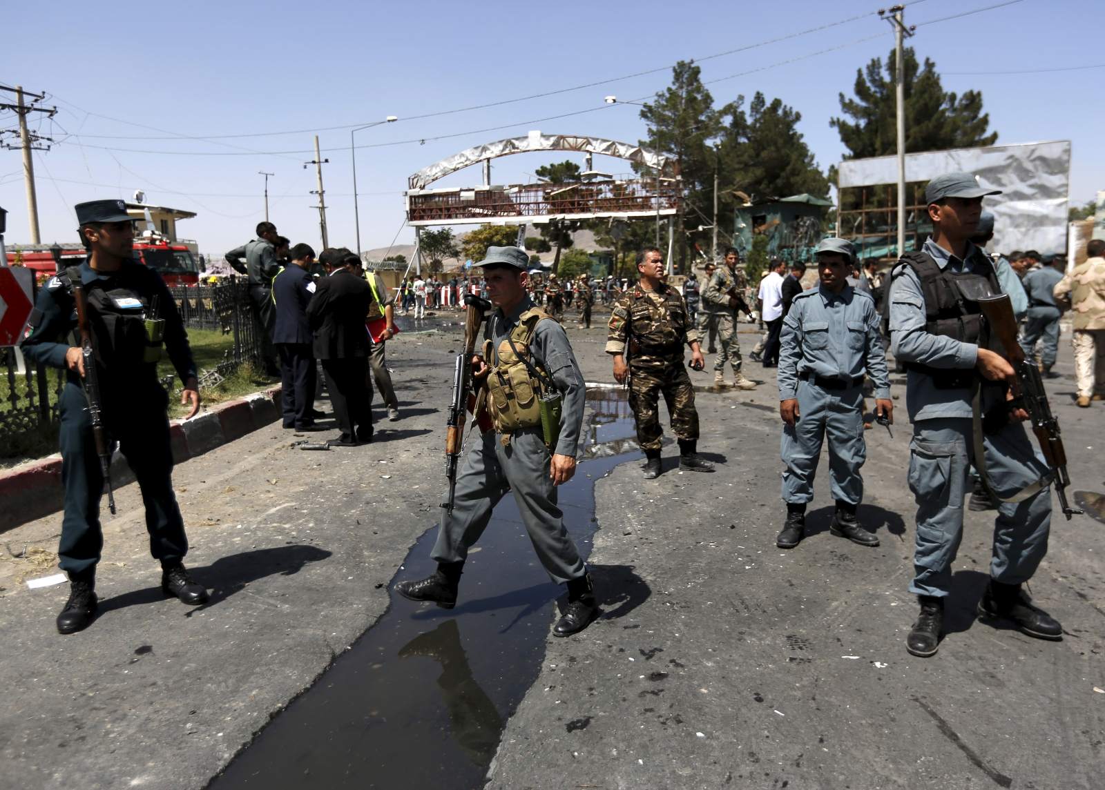 Afghanistan Kabul attacks by Taliban