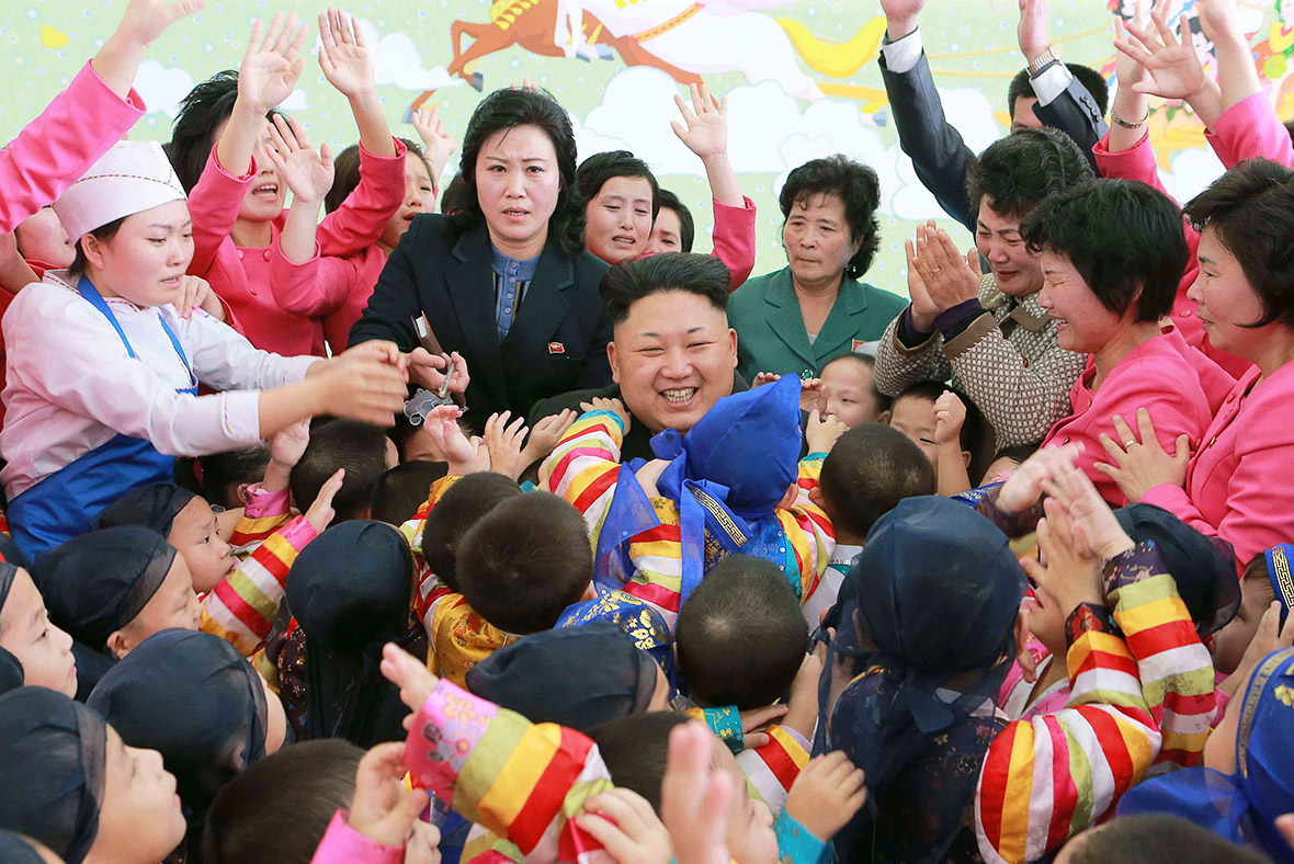 North korea kim jong un women