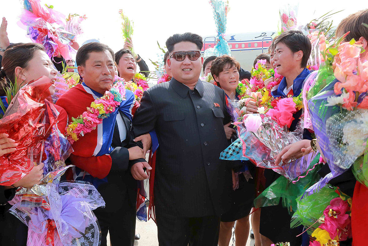 kim jong-un women