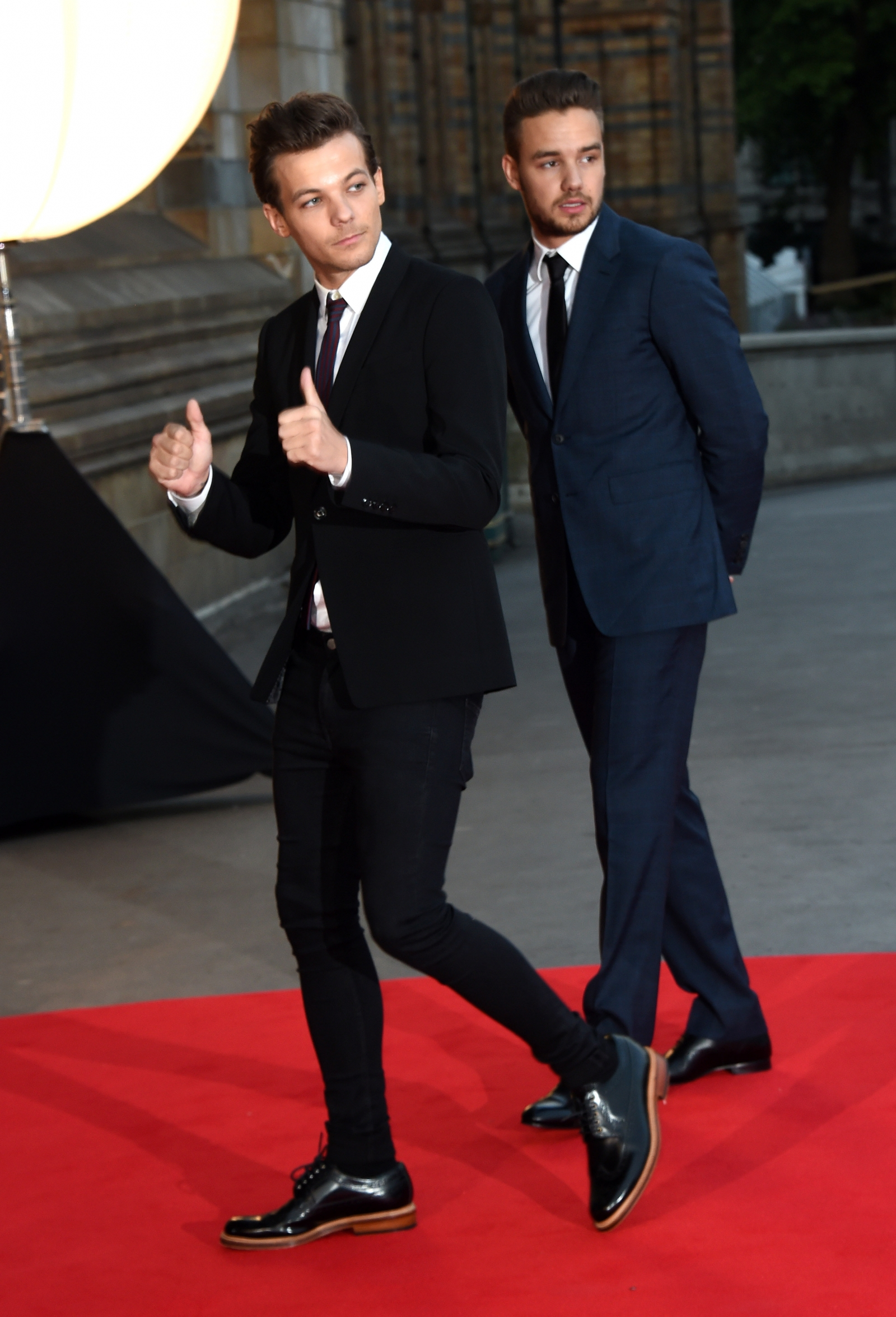 Louis Tomlinson and Liam Payne