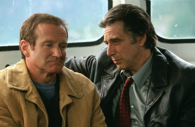 Robin Williams and Al Pacino in Insomnia