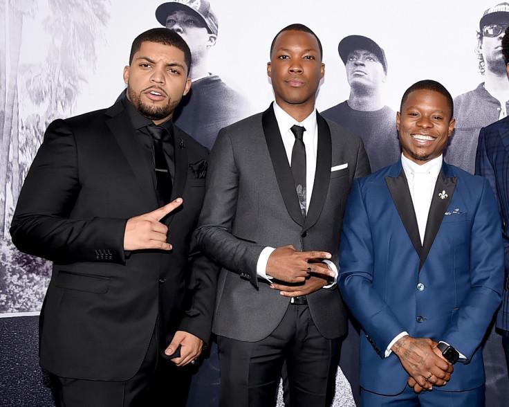 Straight Outta Compton cast