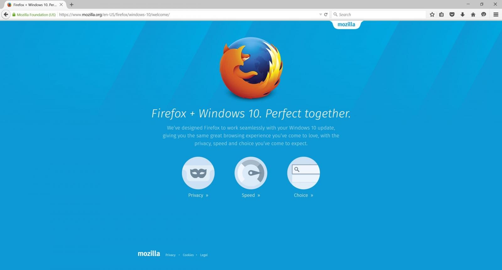 Mozilla Firefox 40