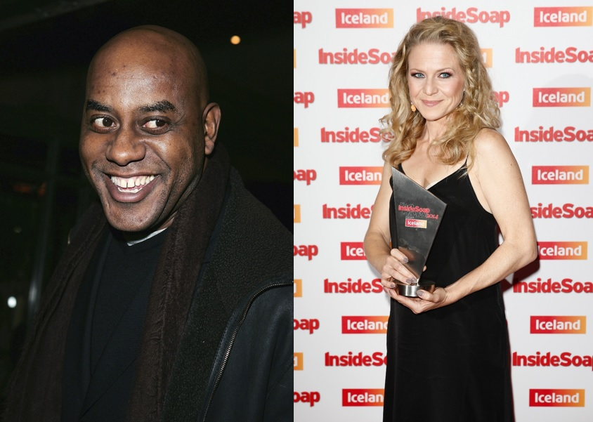 Ainsley Harriott and Kellie Bright