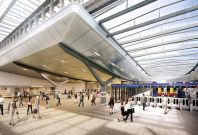 New concourse at The Shard