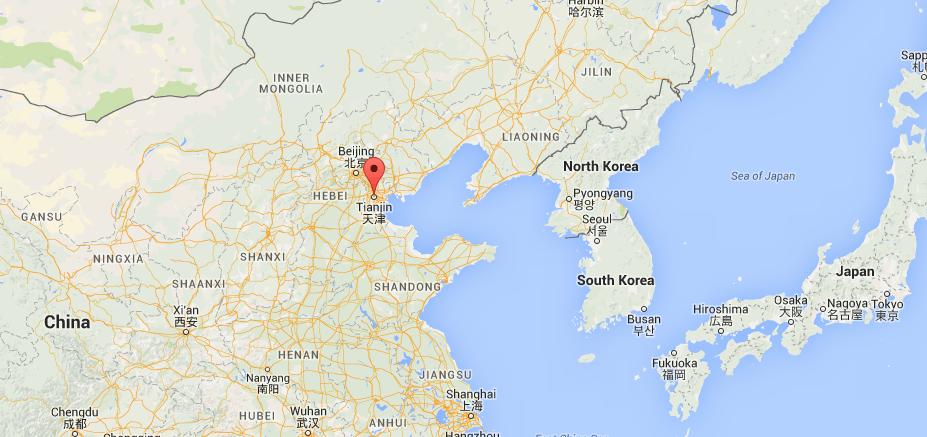 Tianjin explosion China2