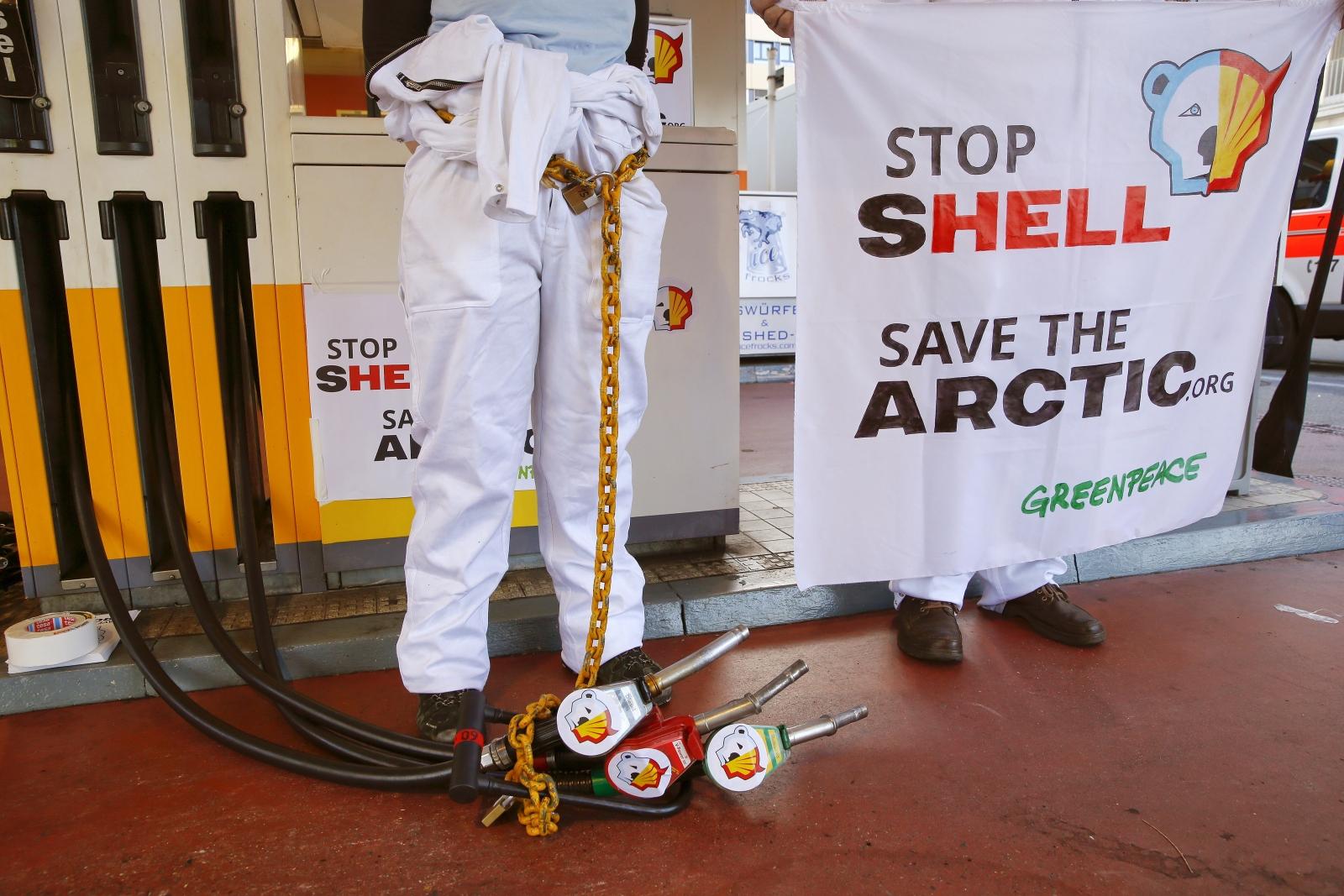 Greenpeace activist
