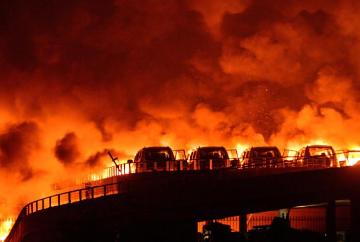 Tianjin fire