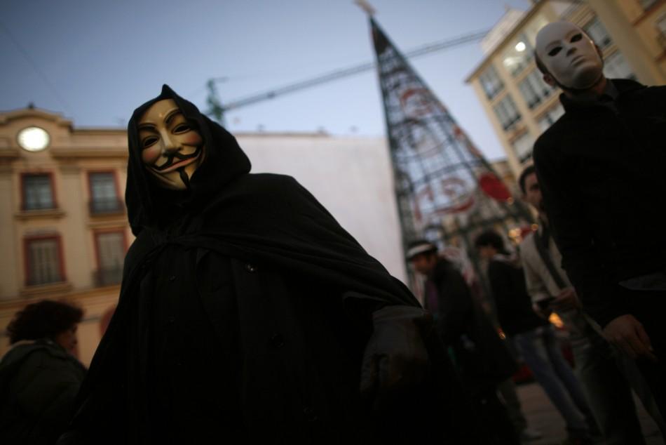 Anonymous Take Notice of UK PM David Cameron's Intenet Plans