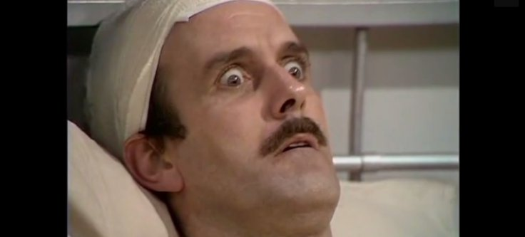 John Cleese in Fawlty Towers