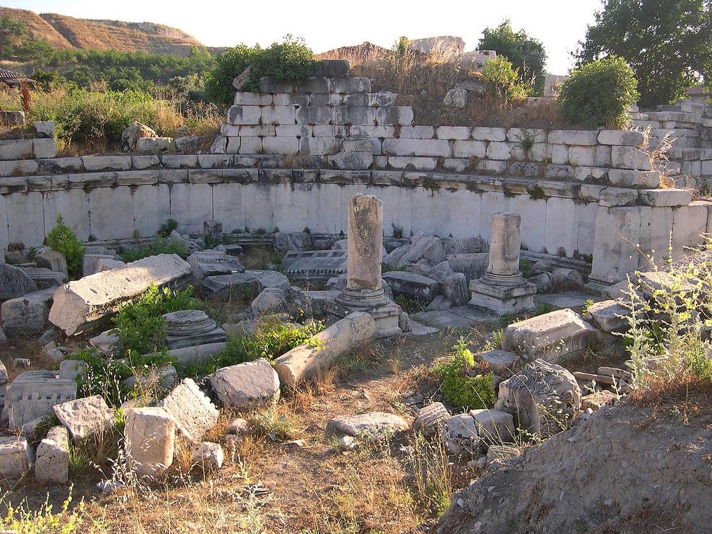 gymnasium at Stratonikeia