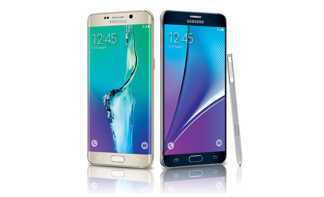Galaxy Note 5, Galaxy S6