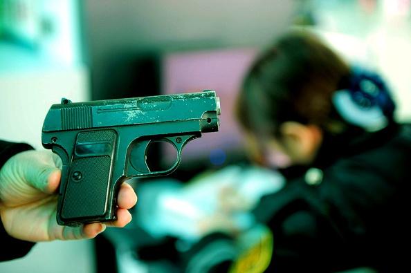 Fake gun