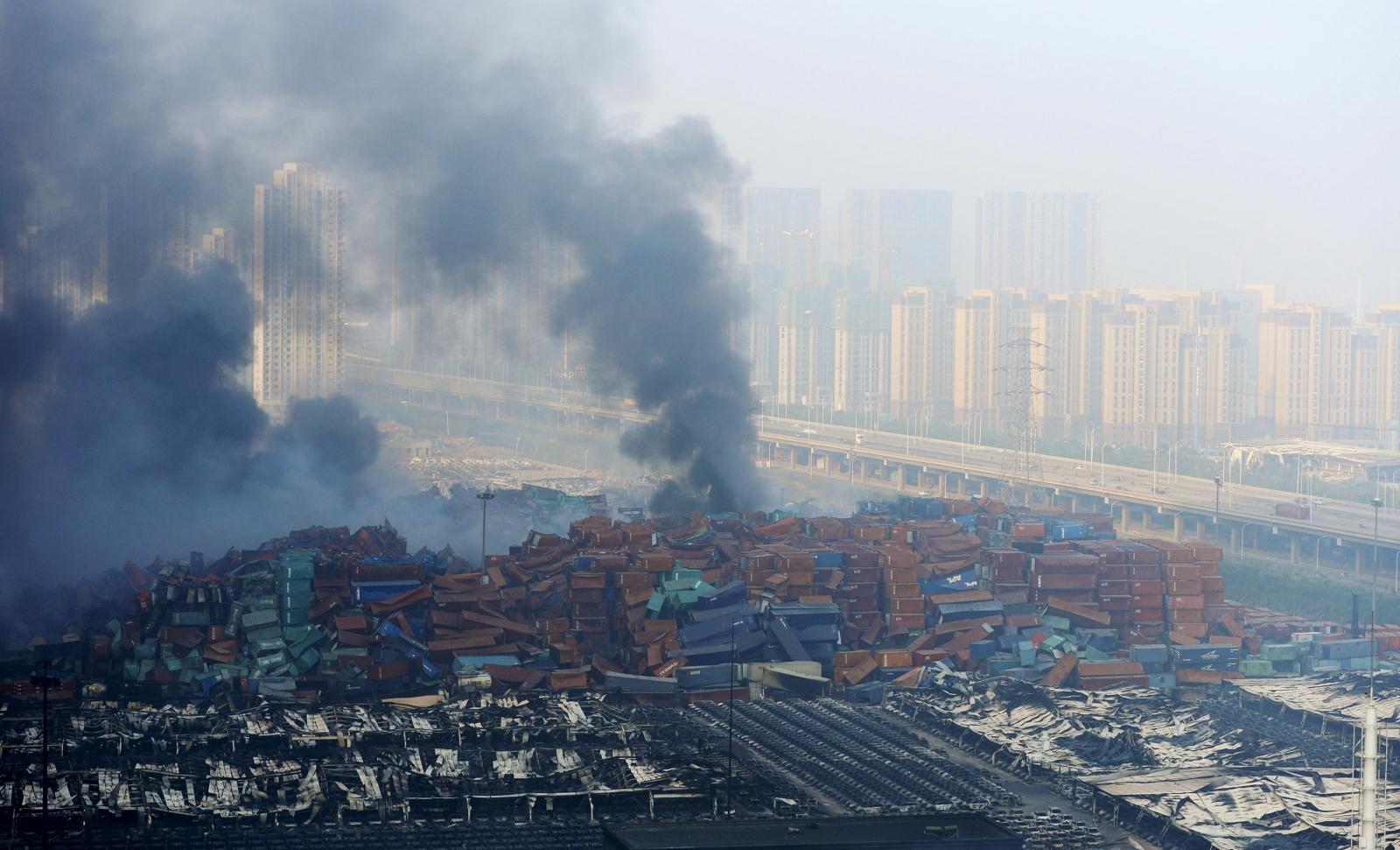 Tianjin port explosions