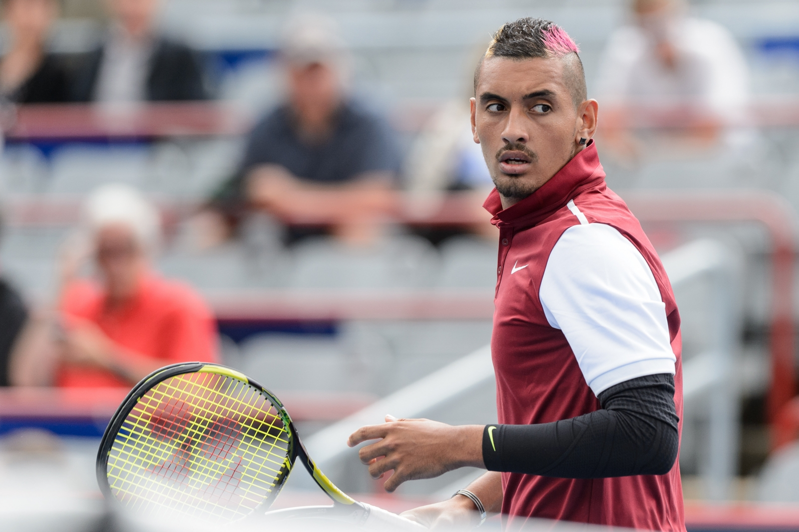 Nick Kyrgios fined and could face ATP suspension after Stan Wawrinka jibe