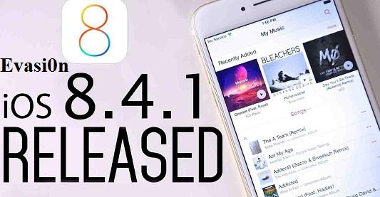 Evasi0n iOS 8.4.1 jailbreak