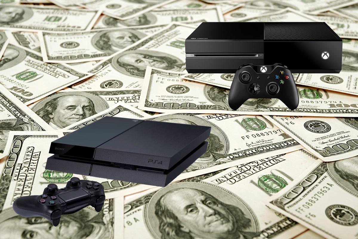 Xbox One PS4 Cash Money