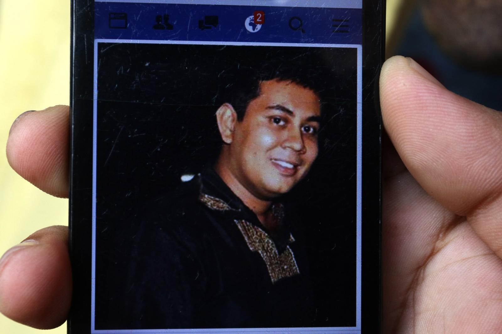 Bangladeshi blogger Niloy Neel