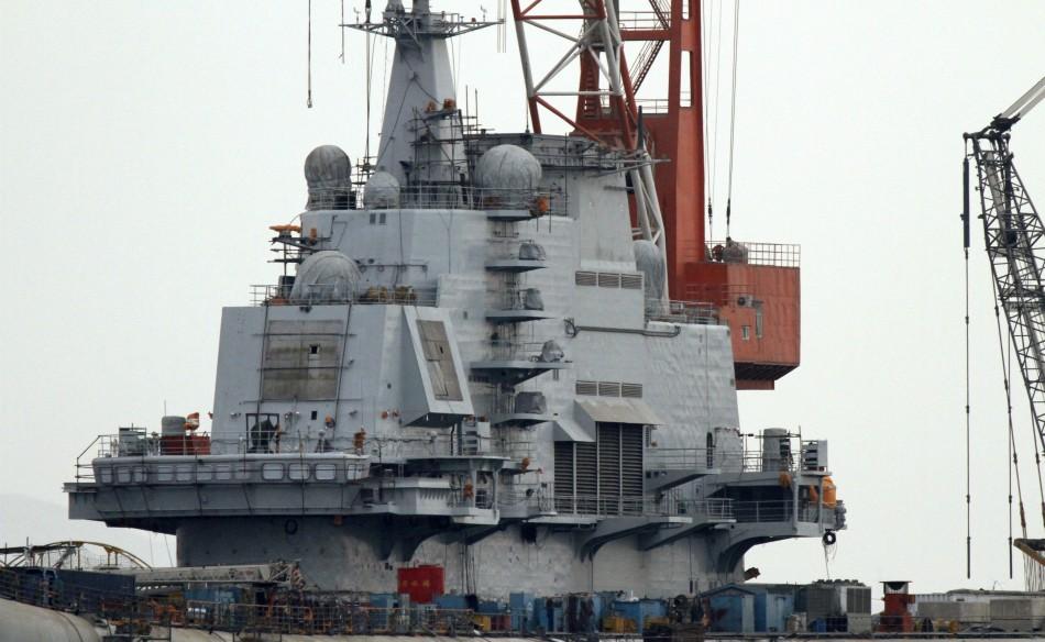 China Aircraft Carrier Varyag