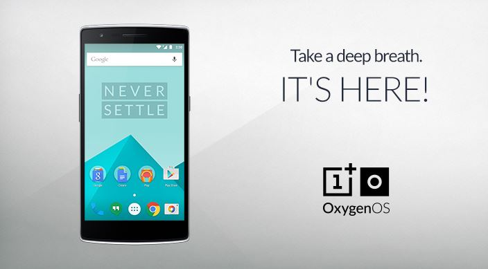 OxygenOS 1.0.2