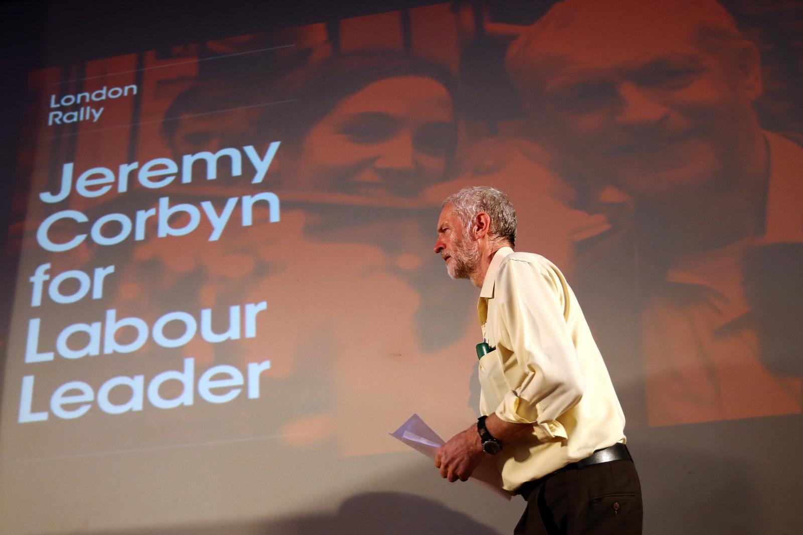 Jeremy Corbyn London