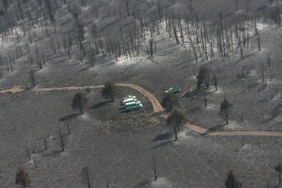 California fires drought
