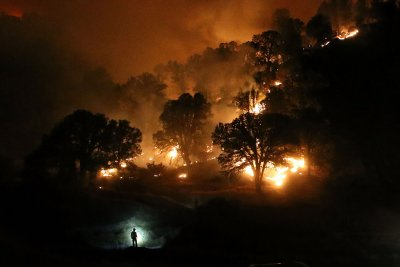 California fires drought