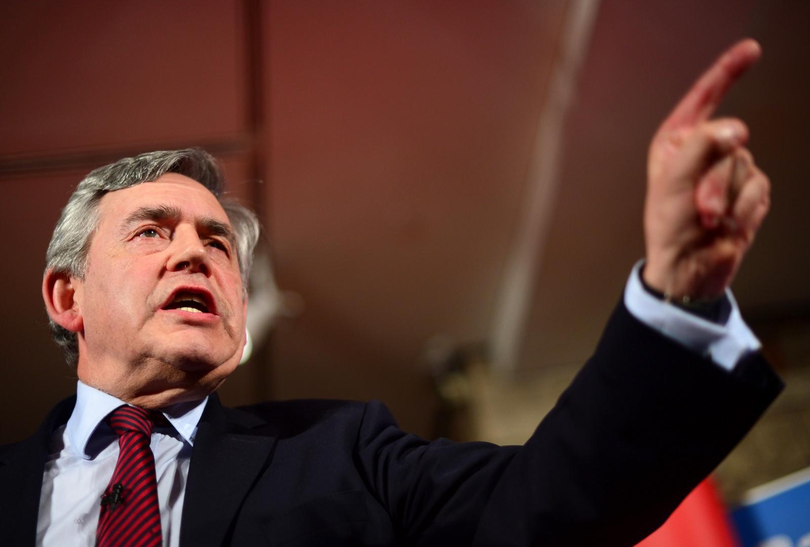 Gordon Brown London speech