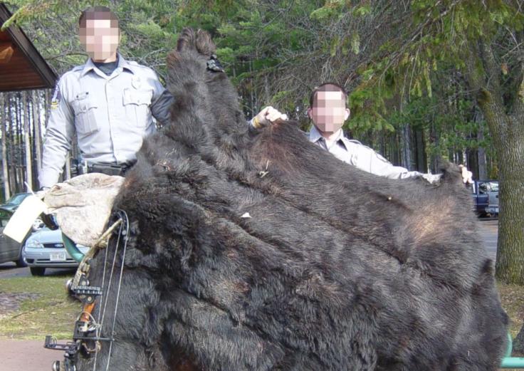 Walter Palmer black bear remains
