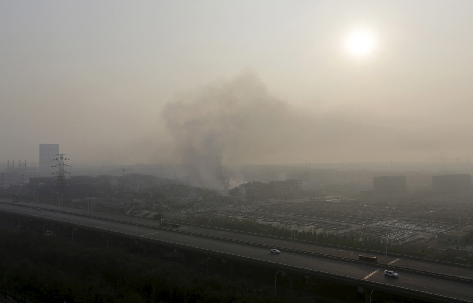 China Tianjin blasts