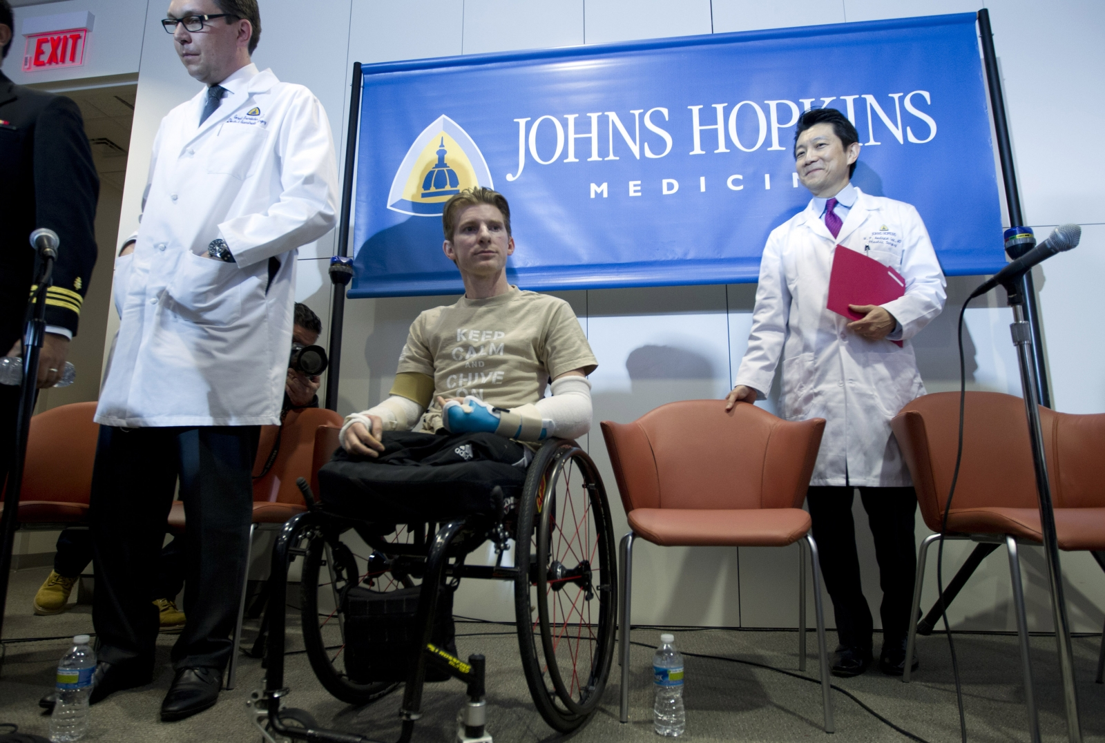 Brendan Marrocco double arm transplant