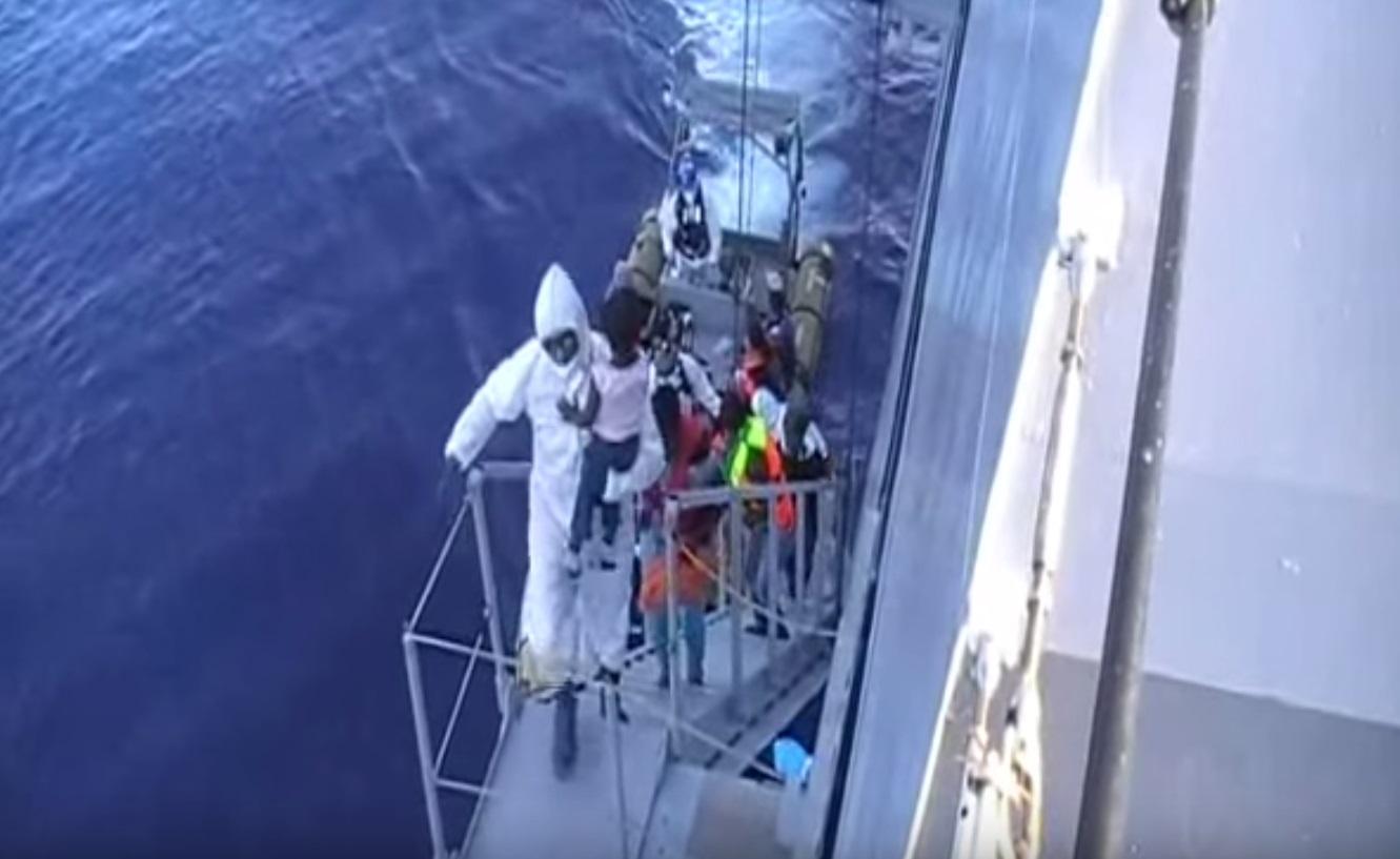 40 migrants die in Mediterranean