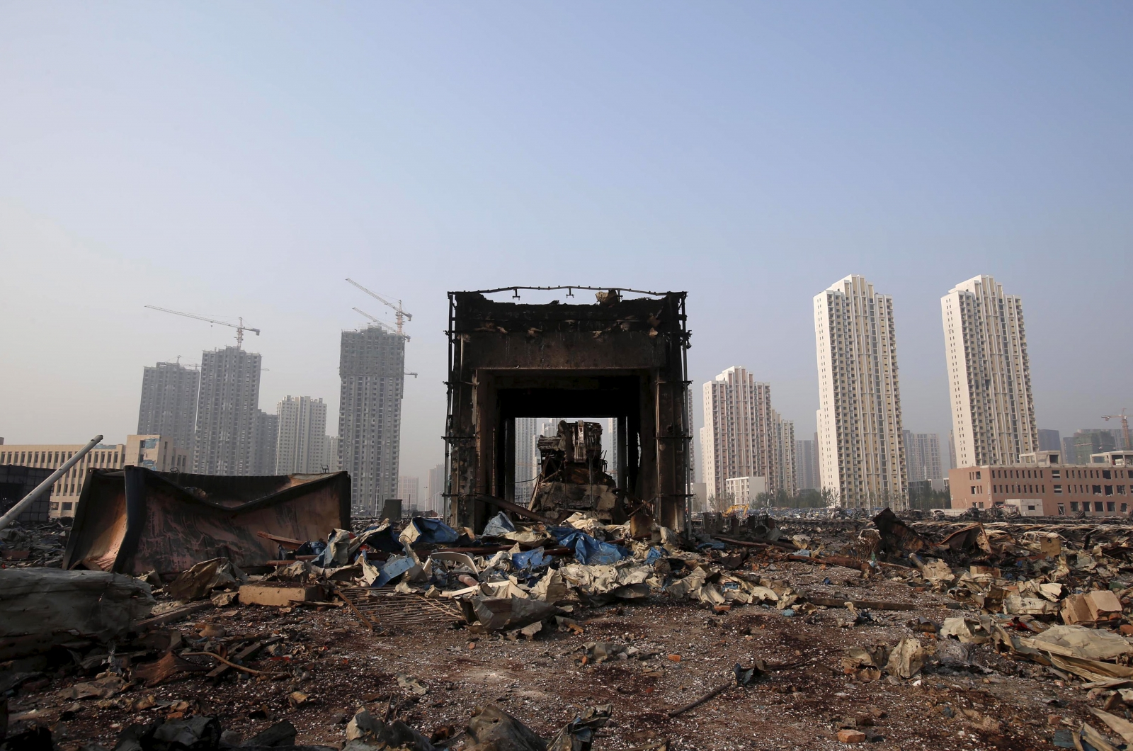 China Tianjin explosions