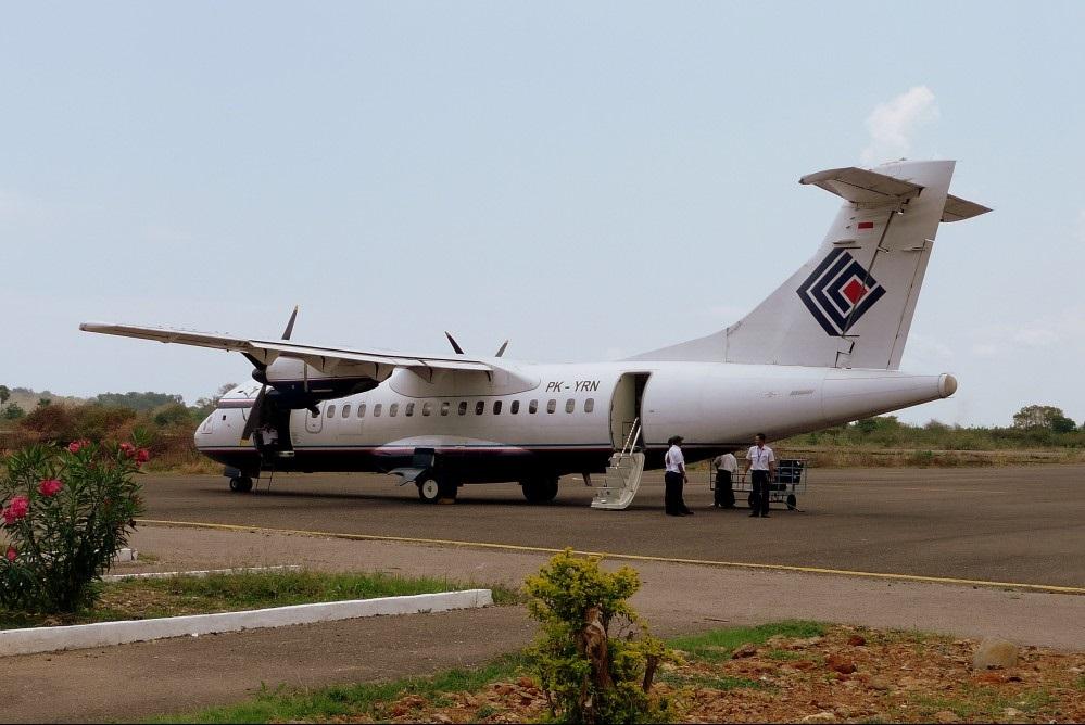 Trigana Air Service ATR 42-300 plane