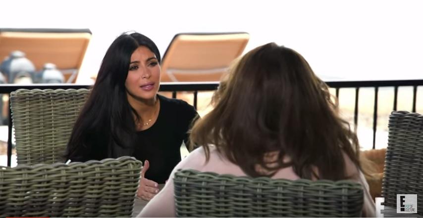 Kim Kardashian and Caitlyn Jenner feud