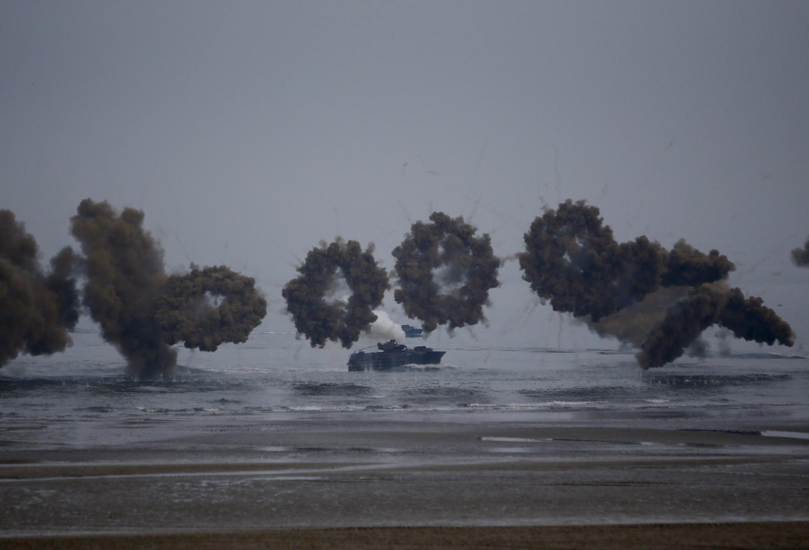 South Korea US drill
