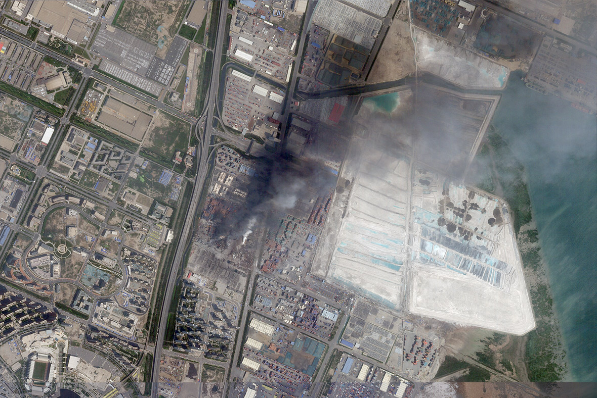china explosion Tianjin