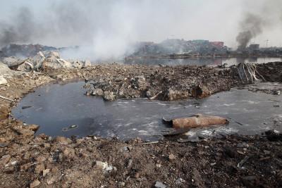 china explosion Tianjin